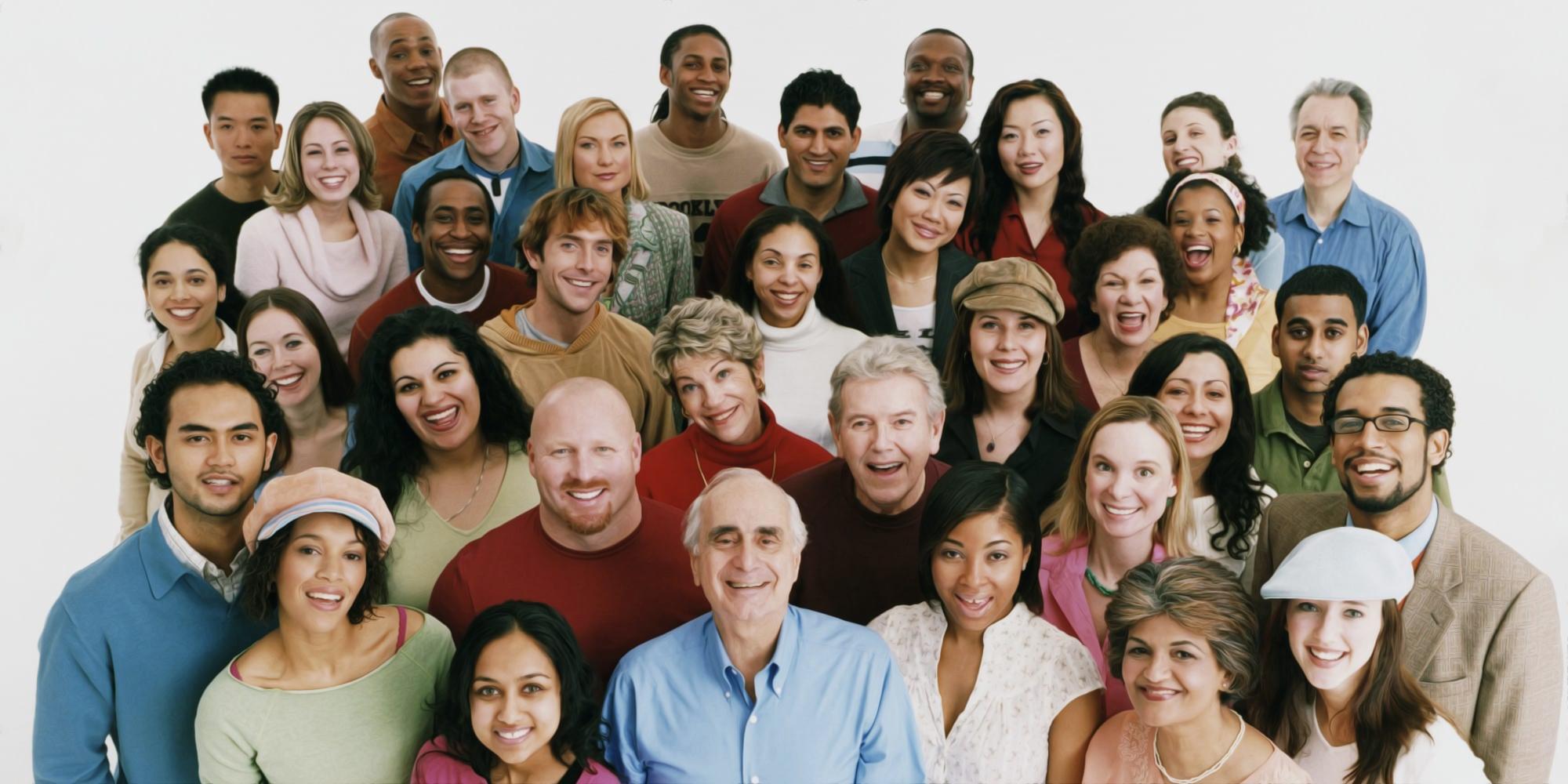 gente sonriendo